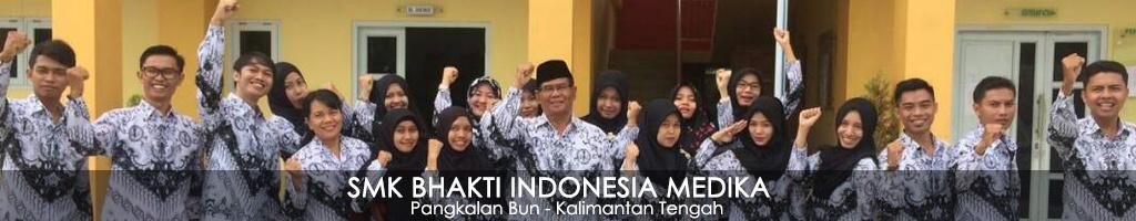 Website SMKS Bhakti Indonesia Medika Pangkalan Bun